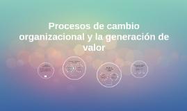 Copy of Procesos de cambio organizacional y la generación de valor