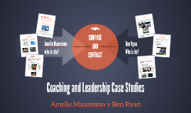 Coaching and Leadership Case Studies