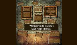 """""""Ministerio de Seguridad Pública"""""""