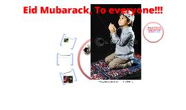 Eid Mubarack