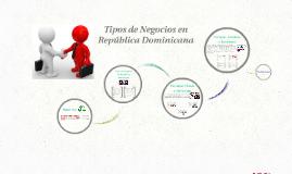 Tipos de Negocios en República Dominicana