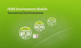 FOSS Environments Module