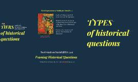 RELS 240.2 Framing Historical Questions