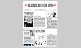 HOLOCAUST: HORROR OR HOAX?