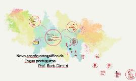 Copy of Copy of Novo acordo ortográfico da língua portuguesa