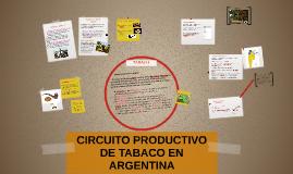 Copy of CIRCUITO PRODUCTIVO DE TABACO EN ARGENTINA