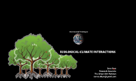 International Training on Ecological and Climatic Interactions