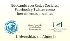 Copy of Facebook y Twitter como herramientas docentes