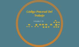 Código Procesal Del Trabajo