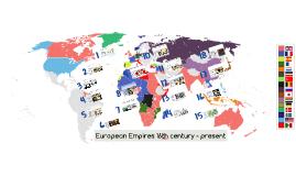 Y8 European Empires 16th century - present