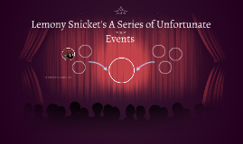 Lemony Snicket'sA Series of Unfortunate Events