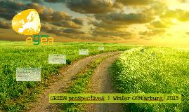 egea Green prospectives | Winter OSM(arburg) 2013