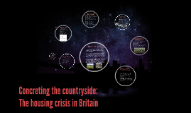 concreting the countryside: The housing crisis in Britain