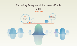 Cleaning Equipment between Each Use