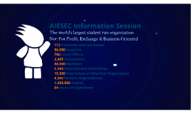 Copy of AIESEC Info-sessions