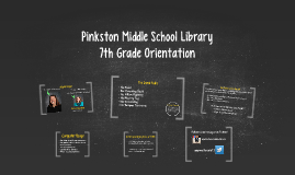 Pinkston Middle School Library