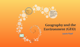 Geography and the Environment (GEO)
