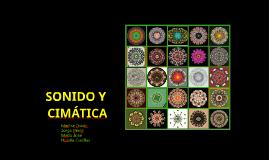 SONIDO Y CIMATICA