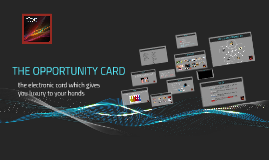 The opportunity card