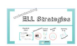 understanding ELL Strategies