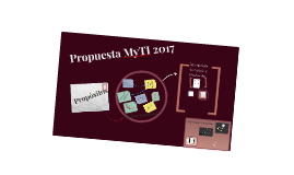 Propuesta 2017 MyTI
