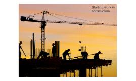 starting work in construction NOCN