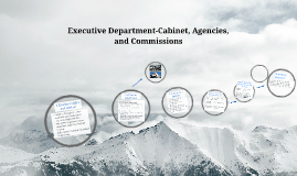 Copy of Executive Department-Cabinet, Agencies, and Commissions