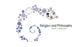 Week 2E: Hinduism
