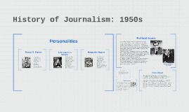 History of Journalism: 1950s