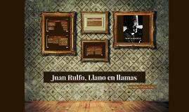 Llano en llamas; Juan Rulfo