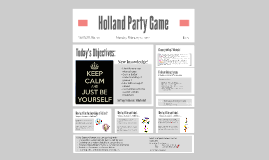 Copy of Copy of Holland Party Game