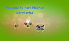 Candidature Host Secretariat Alliance from COCAT