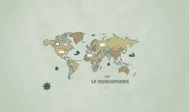 que es la francofonia?
