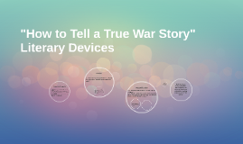 """""""How to Tell a True War Story"""""""
