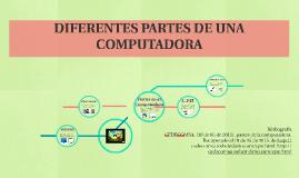 diferentes partes de la computadora