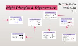 Right Triangles & Trigonometry