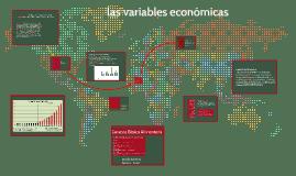 las variables economicas