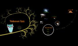 Copy of Halloween Quiz