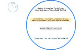Ankara Üniversitesi Fen Bilimleri Enstitüsü Kimya Mühendisli