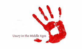 Usury in the Middle Ages