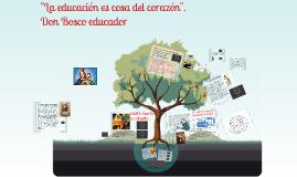Don Bosco Educador