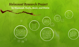 Holocaust research project by