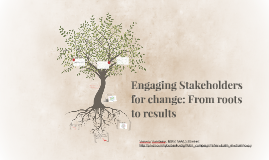 Strategic Stakeholder Engagement: From roots to results