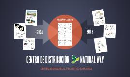 """CENTRO DE DISTRIBUCIÓN """"NATURAL WAY"""""""