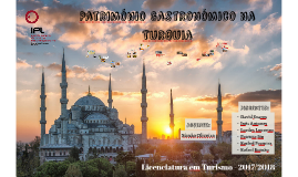 Património Gastronómico na Turquia