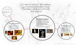 Copy of EL ARTE CLÁSICO: EL ARTE GRIEGO. (PPT)