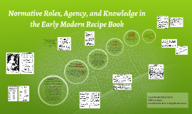 Normative Roles, Agency, and Knowledge in the Early Modern R