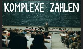 Komplexe  Zahlen