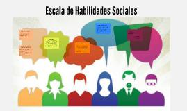 Escala de habilidades sociales