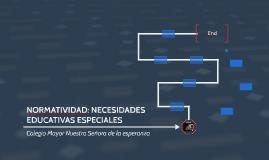 NORMATIVIDAD: NECESIDADES EDUCATIVAS ESPECIALES